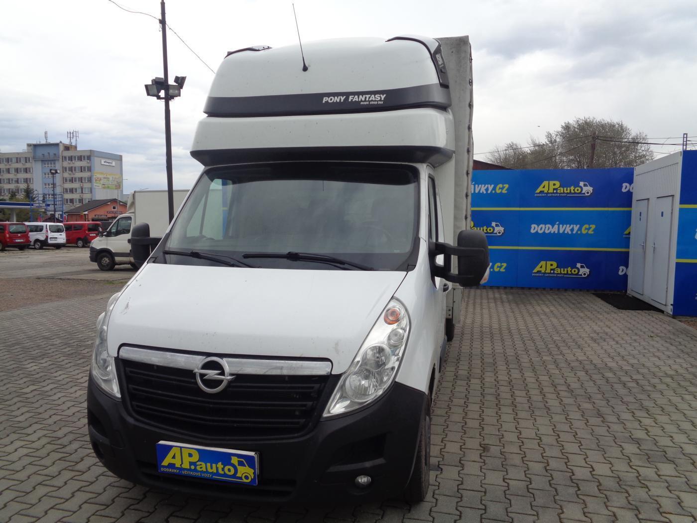 Opel Movano 2.3CDTI VALNÍK PLACHTA SPANÍ SERVIS užitkové