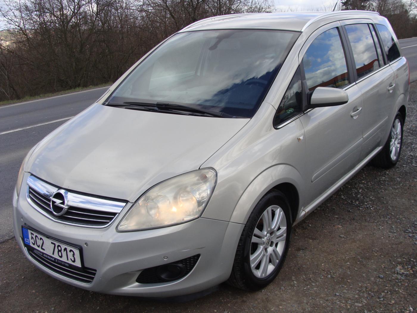 Opel Zafira 1.7 CDTi, 7 Míst kombi