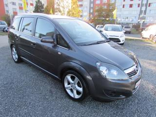 Opel Zafira 1.8i 103kW, 2.majitel, 7 MÍSTNÉ MPV