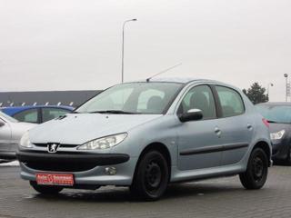 Peugeot 206 1,1 *KLIMATIZACE*ABS* hatchback benzin