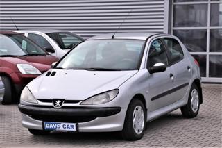 Peugeot 206 1,4 HDI Klima Serv.kniha hatchback nafta