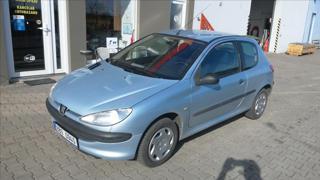 Peugeot 206 1,4 HDi - KLIMA, centrál, servo hatchback nafta