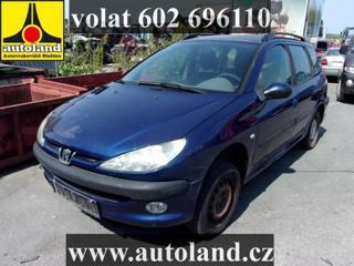 Peugeot 206 VOLAT 602 696 110 hatchback benzin