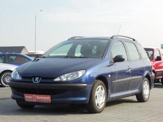 Peugeot 206 1,4 SW 1.4 HDi *KLIMATIZACE* kombi nafta