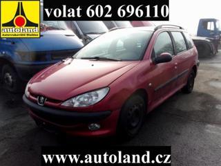Peugeot 206 VOLAT 602 696 110 kombi benzin