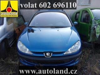 Peugeot 206 VOLAT 602 696 110 kombi nafta