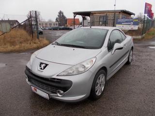 Peugeot 207 CC 1.6i Sport, 88 kW, Klima kabriolet