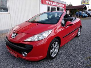Peugeot 207 1,6i, Kabrio, serviska kabriolet