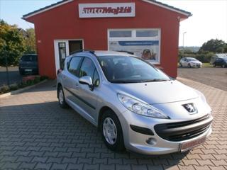 Peugeot 207 1,4 16V SW NOVÉ v ČR SERVISKA 62300 KM!!!! kombi benzin