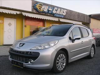 Peugeot 207 1,6 i,  VÝHŘEV SEDADEL,SERVISKA kombi benzin