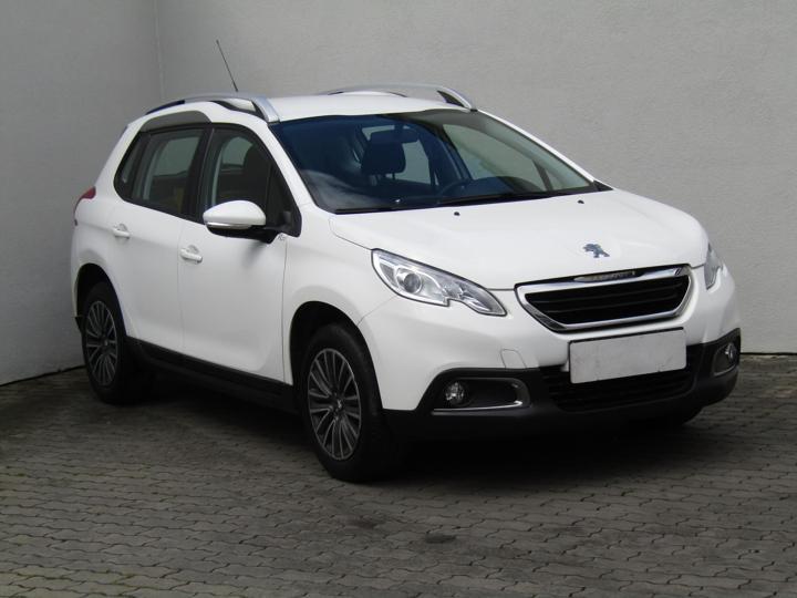 Peugeot 2008 1.2i, Serv.kniha, ČR SUV benzin