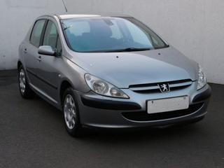 Peugeot 307 1.4i, Serv.kniha, ČR hatchback benzin
