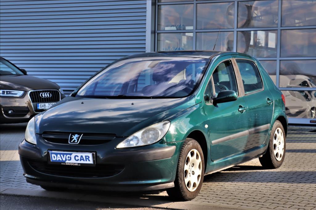 Peugeot 307 1,6 i 80kW Aut. klima hatchback benzin