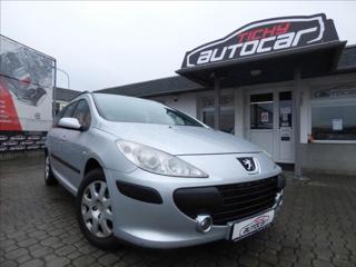 Peugeot 307 1,6 16V,koupeno ČR,serviska kombi benzin