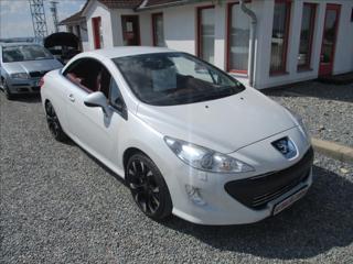 Peugeot 308 1,6 CC,kůže,110kw kabriolet benzin