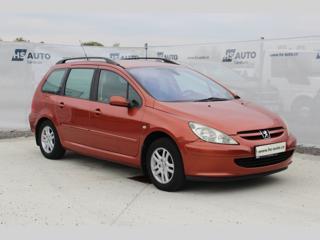 Peugeot 307 1.6i,ČR,1.majitel kombi benzin