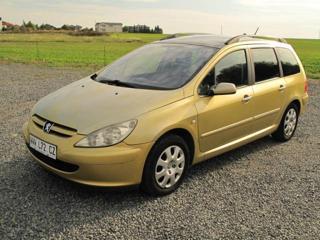 Peugeot 307 1,6 SW AUTOMAT panorama 2xkola kombi benzin