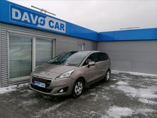 Peugeot 5008 1,6 HDI 7-Míst 1.Maj. Serv.kniha MPV nafta