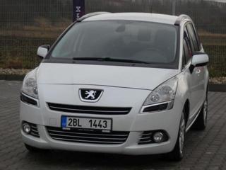 Peugeot 5008 1.6 HDI, 7 míst, ZÁRUKA 36 MĚS MPV nafta