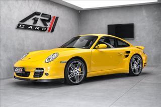Porsche 911 Turbo 997, keramiky, navigace, sport chrono turbo kupé benzin