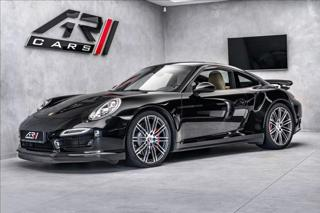 Porsche 911 991 Turbo, PDCC, ventilace, CZ  OV,RU kupé benzin