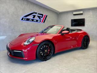 Porsche 911 992 S cabrio, Karmin, Chrono, Matrix, PASM, CZ  OV,RU kabriolet benzin