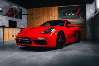 Porsche Boxster 2,5 718 BOXSTER S, BOSE, NAVI, SPORT CHRONO  BR kabriolet benzin