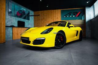 Porsche Boxster 3,4 S, SPORT CHRONO, PDLS, PASM  BR kabriolet benzin