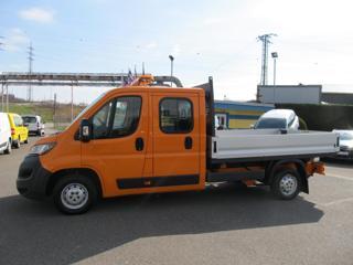 Peugeot Boxer 2.0 HDI valník L3 7 míst ČR 1.maj valník