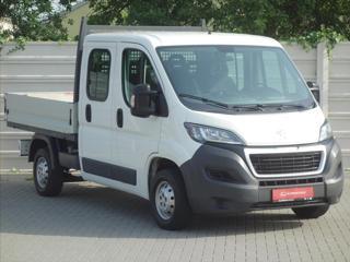 Peugeot Boxer 2,0 HDi 120kW 7míst ČR 1.maj FAP 33 L2H1 Doublecab valník nafta