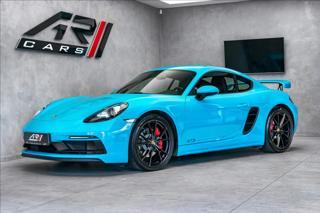 Porsche Cayman 718 GTS, TechArt, CZ kupé benzin