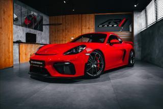 Porsche Cayman 4,0 GT4 CLUBSPORT, ZÁRUKA, ALCANTARA  BR kupé benzin