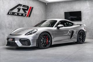 Porsche Cayman GT4, CLUBSPORT, PDLS, BOSE  OV,Ru kupé benzin