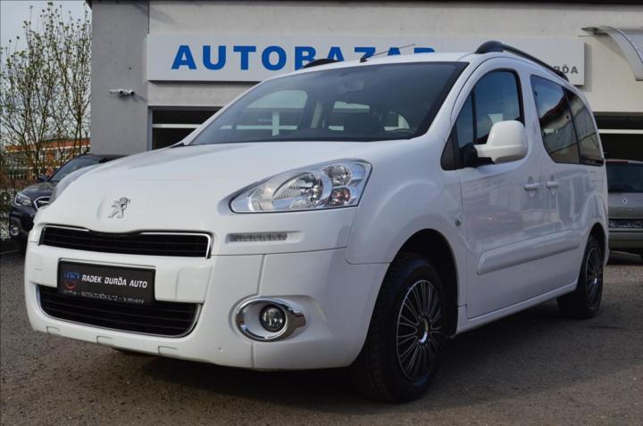 Peugeot Partner Tepee 1,6 i  NOVÉ V ČR,DPH,ACTIVE+ pick up benzin