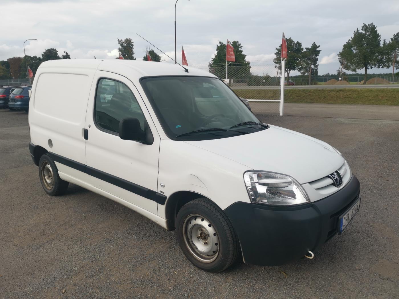 Peugeot Partner 1.6HDI 90k pick up