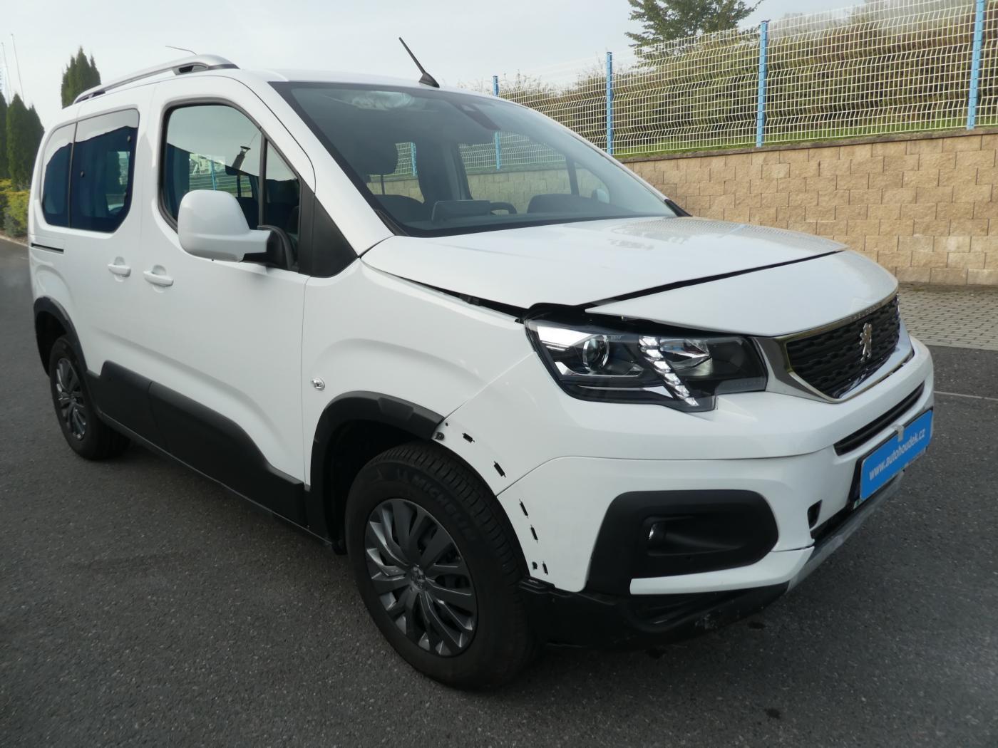 Peugeot Rifter 1,5D 75kW 7000 km odpočet DPH MPV