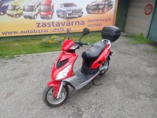 QingQi YUKI QM50T-10A moped