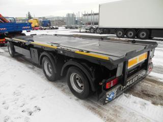 Reisch REA-24Z pro přepravu kontejnerů