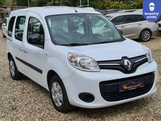 Renault Kangoo 1.5DCi 5.míst ČR NOVÉ 1.MAJITEL MPV