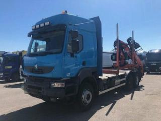 Renault Kerax 6x4 Lesák pro přepravu dřeva