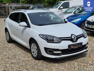 Renault Mégane 1.6DCi 70kW ČR NOVÉ 1.MAJITEL kombi