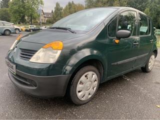 Renault Modus 1,2i 16V + sada pneu kombi benzin
