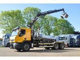 Renault Lander 380 EEV, 6x4, HNK s Hydr.ruk pro přepravu kontejnerů