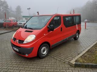 Renault Trafic 2.0dCi,9.míst,Čr,LONG kombi