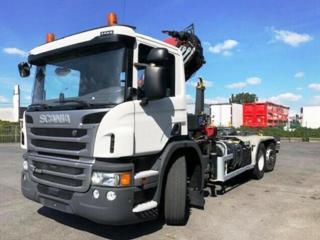 Scania pro přepravu kontejnerů