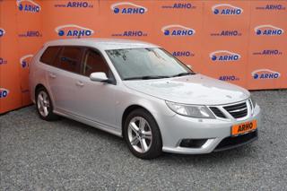 Saab 9-3 2,8 T 206KW, AERO, SERV.KN. kombi benzin