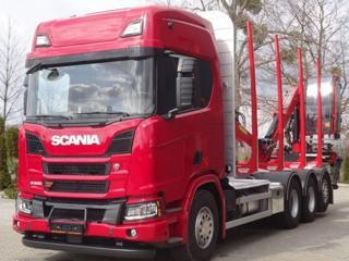 Scania R 500 8x4 lesovůz EURO 6 pro přepravu dřeva