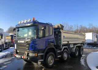 Scania P 450 8x4 Bordmatik EURO 6 sklápěč