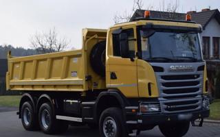 Scania G 400 6x6 Bordmatik EURO 5 sklápěč
