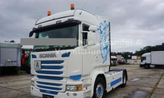 Scania R 490 hydraulika EURO 6 tahač